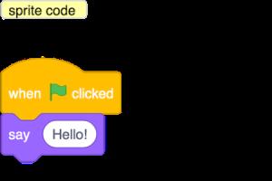 BlockLike js - bridging the gap between block programming
